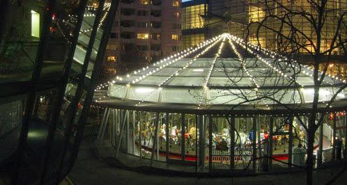 Yerba Buena Gardens Winter Carousel