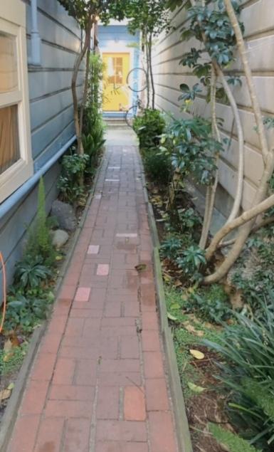 Yoga Garden SF pathway