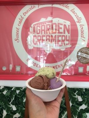 Garden Creamery Roasted Matcha, Chocolate Haupia & Ube Pandan