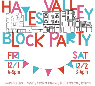 Hayes Valley Holiday Block Party